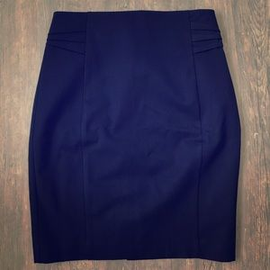 Navy pencil skirt from Express. Size 4. NWT.